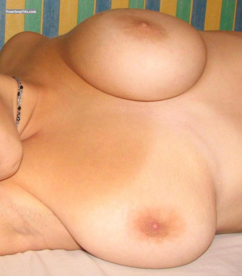 Tit Flash: Big Tits - Pascal from Netherlands